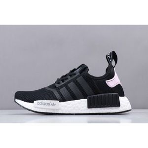 Adidas Shoes Nmd R1 Pink Black Sneakers Poshmark